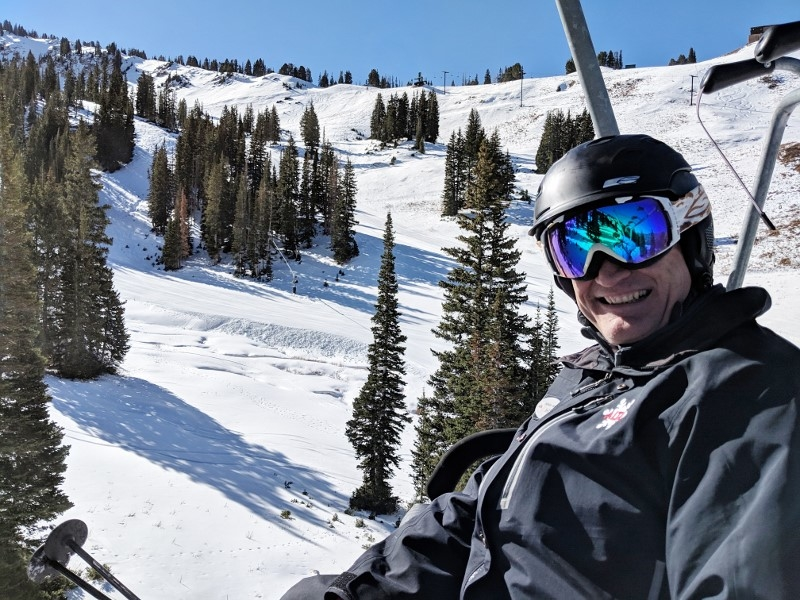 Mike Maughan Alta Ski Lift Manager.
